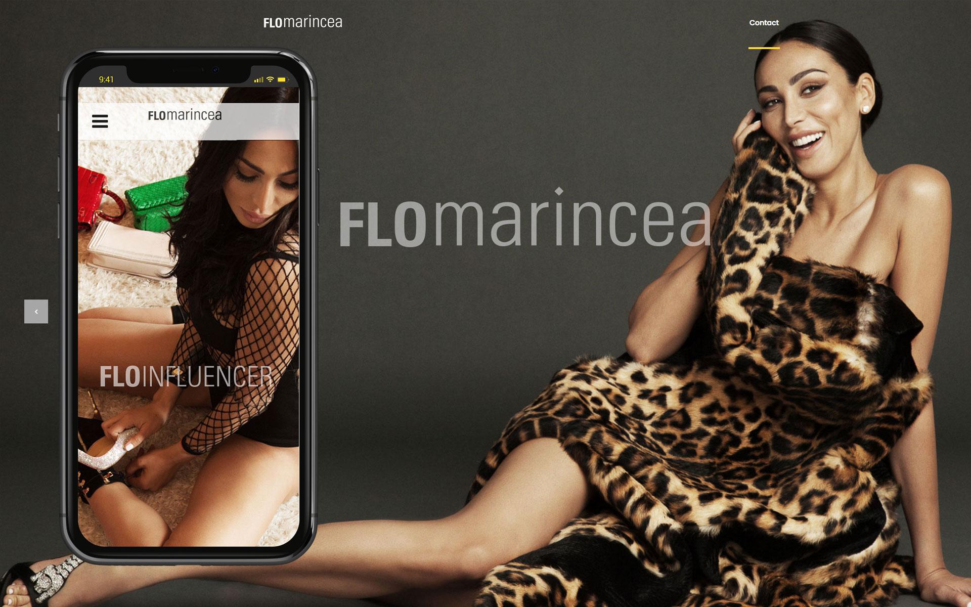 Web to Flo Marincea