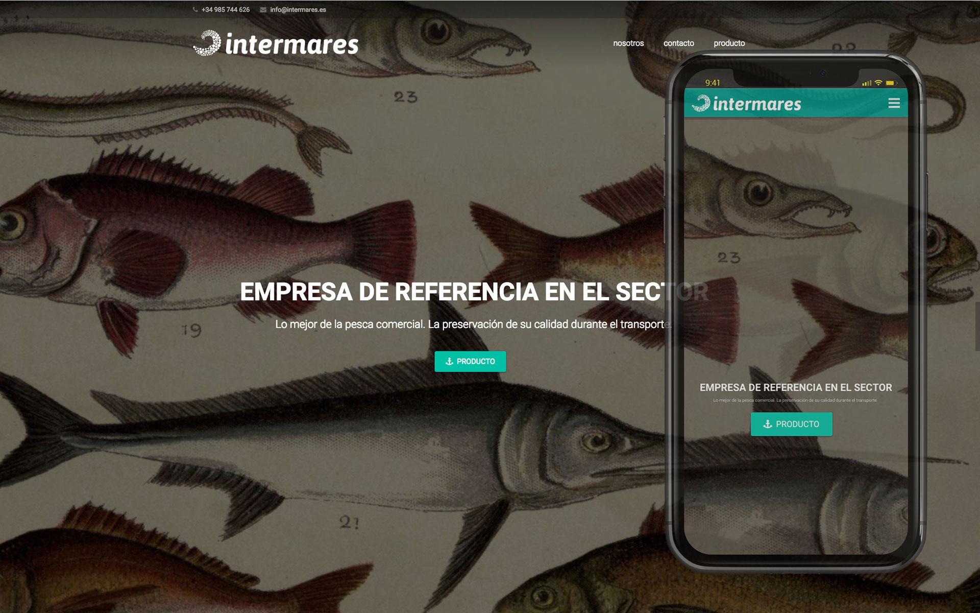 Página web para Intermares