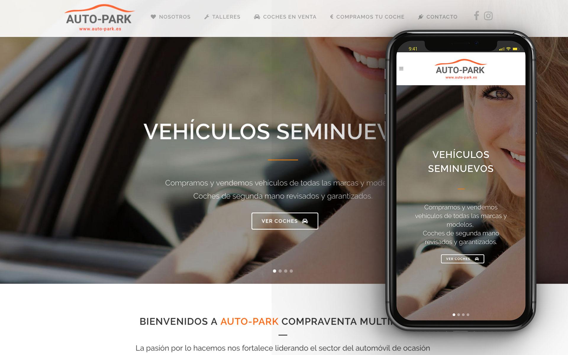auto-park web