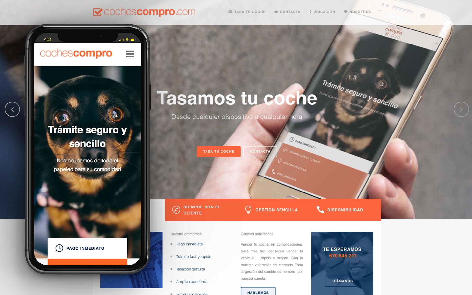 Web para coches Compro