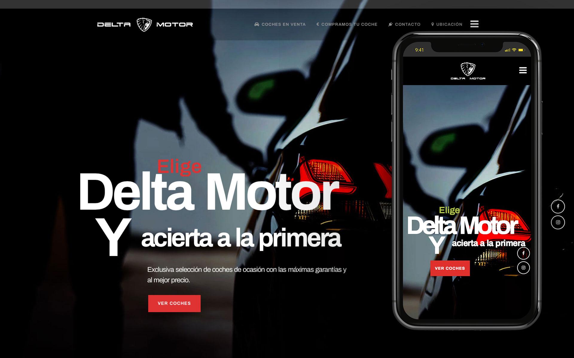 web para delta motor