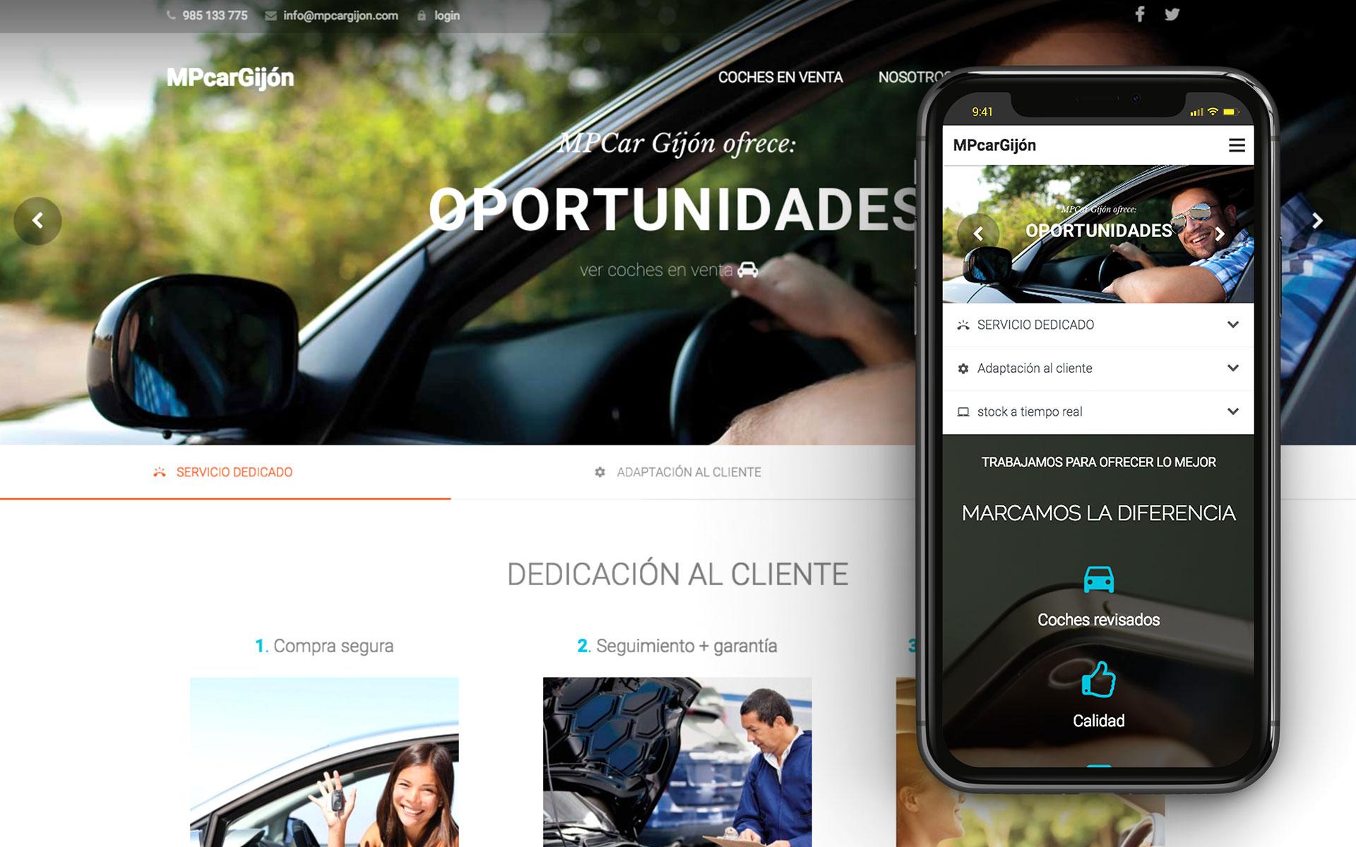 mp car web