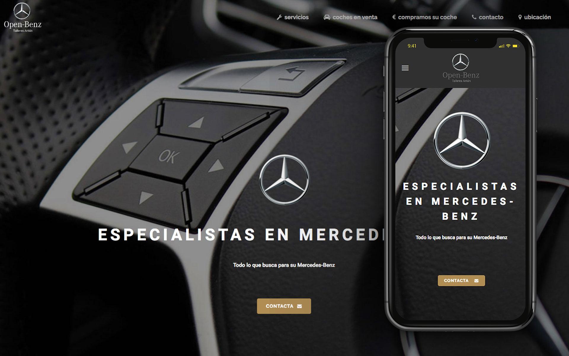 web para Open Benz