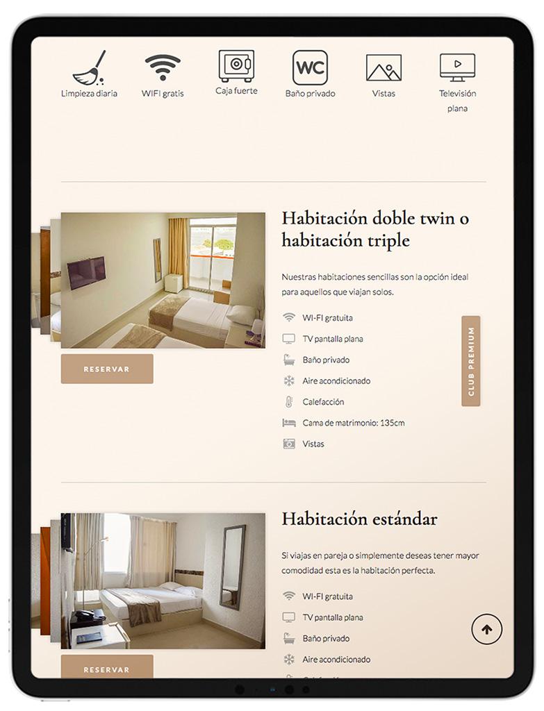 web design hotel